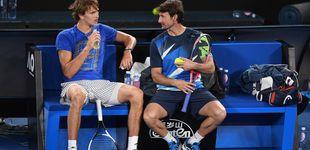 Post de El tenso final de la relación de Ferrero con la futura estrella Zverev