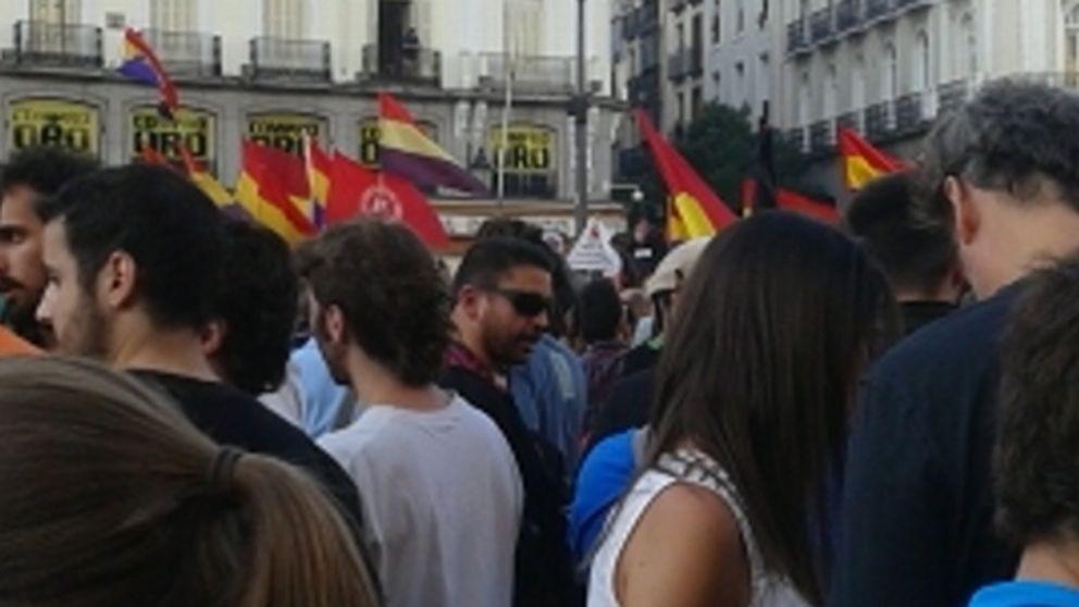 Los otros republicanos: Ynestrillas también se manifestó en Sol