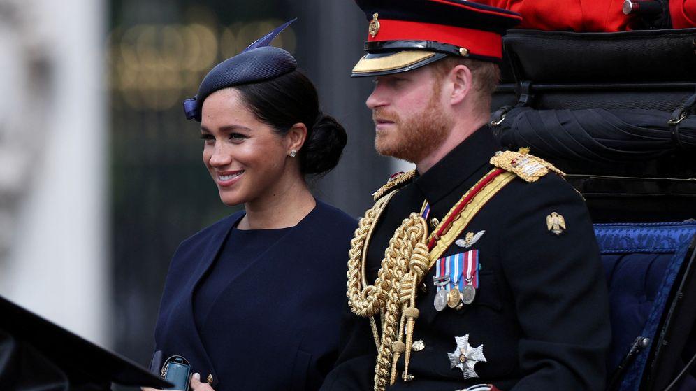 Foto: Meghan y Harry en su última aparición pública. (Reuters)