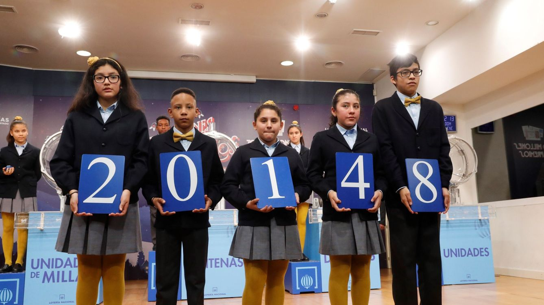 El 20.148, tercer premio de la Lotería del Niño, reparte 25.000 euros por décimo