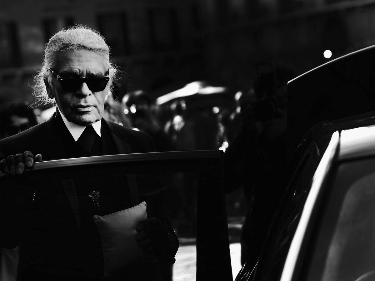 Foto: Karl Lagerfeld, en una imagen de archivo. (Getty)