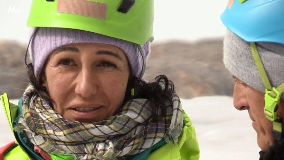 Foto: Ana Botín, en 'Planeta Calleja'. (Mediaset)