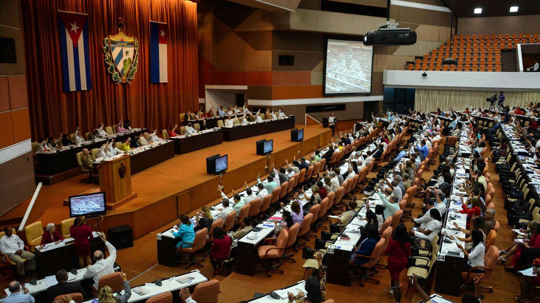Vista general de la Asamblea Nacional durante la primera jornada del debate sobre la nueva Constitución, el 21 de julio de 2018. (EFE)