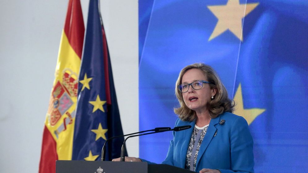 Foto: La vicpresidenta de Asuntos Económicos, Nadia Calviño (EFE)