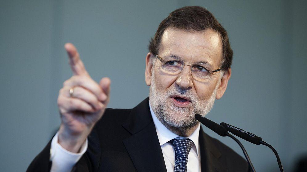 Foto: El presidente en funciones, Mariano Rajoy, durante un mitin de campaña de cara al 20D. (Efe)