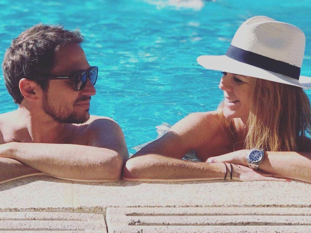 Foto: Manuel Martos y Amelia Bono están disfrutando de sus vacaciones juntos. (Instagram @manuelmartos78)