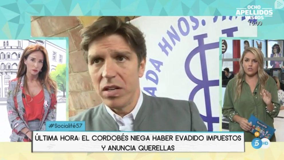 Error garrafal de Telecinco al implicar al Cordobés hijo en los Paradise Papers