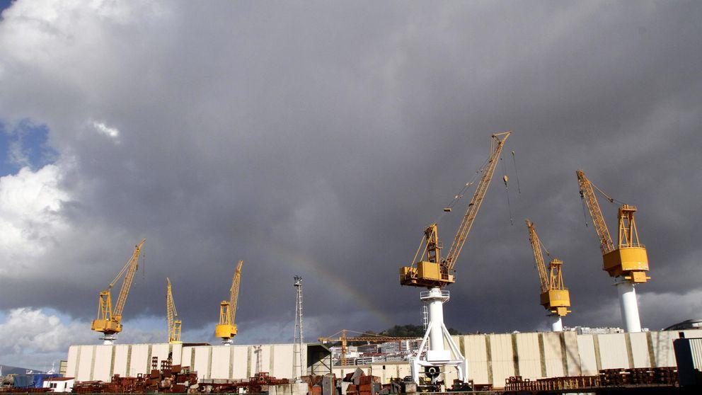El hundimiento de dos gigantes agita el fantasma de otra crisis del naval gallego