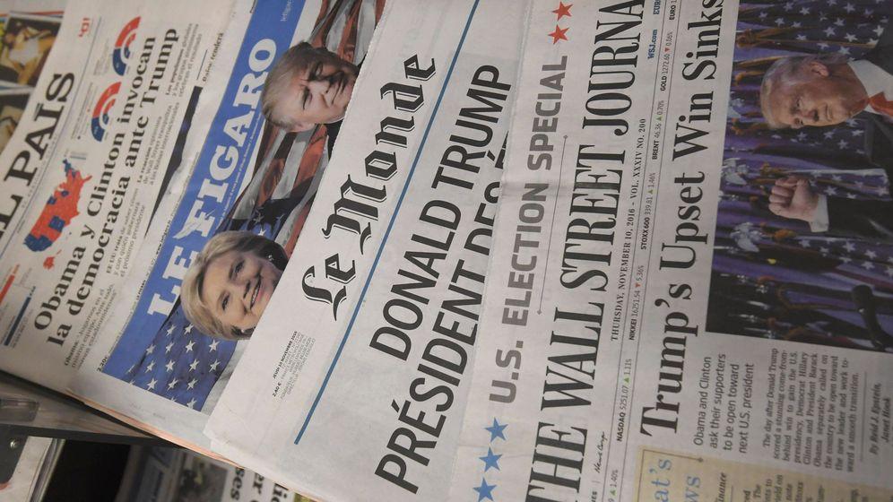Foto: Ejemplares de periódicos internacionales. (Reuters)