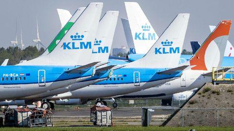 KLM reanuda las rutas a Madrid, Barcelona y otras seis europeas