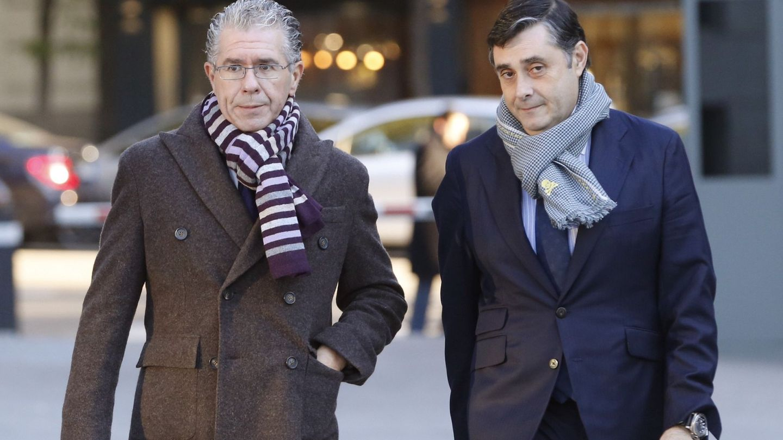 Francisco Granados y Javier Vasallo. (EFE)