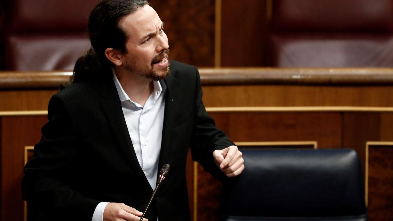 Pablo Iglesias, con la chaqueta de Zara. (EFE)