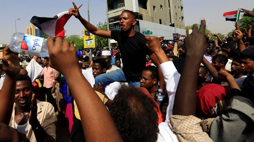 Foto: Manifestaciones en Sudán. (Reuters)