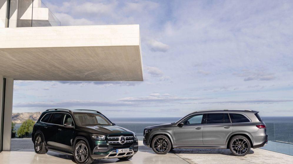Foto: GLS, el todocamino más grande y lujoso de Mercedes