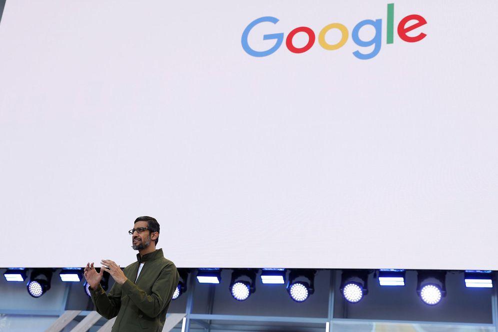Foto: Sundar Pichai, CEO de Google, durante la presentación. (Reuters)
