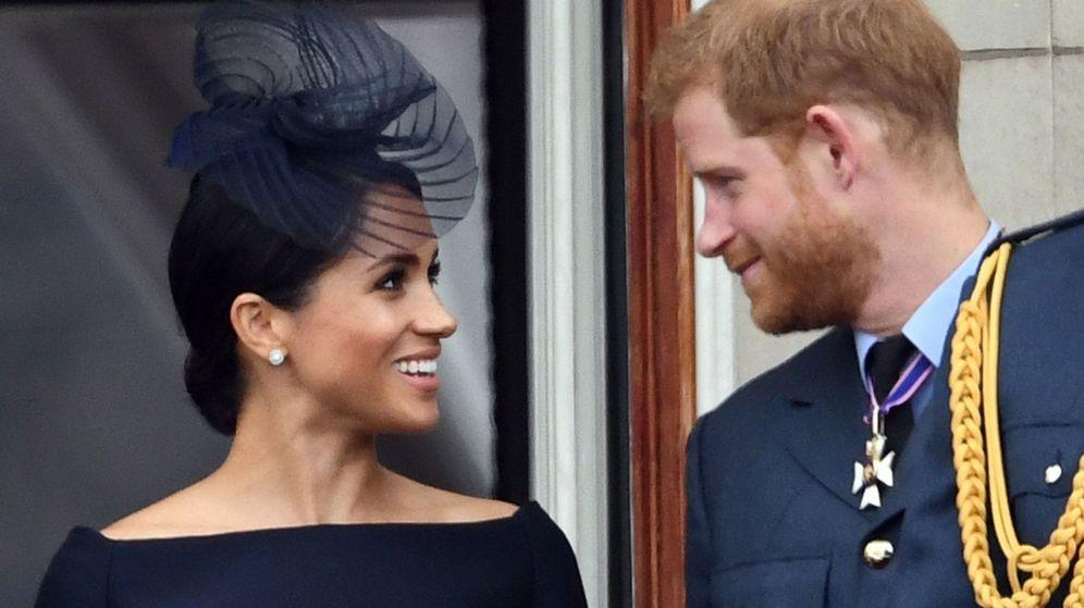 Foto: Meghan Markle y el príncipe Harry, en una imagen de archivo. (EFE)