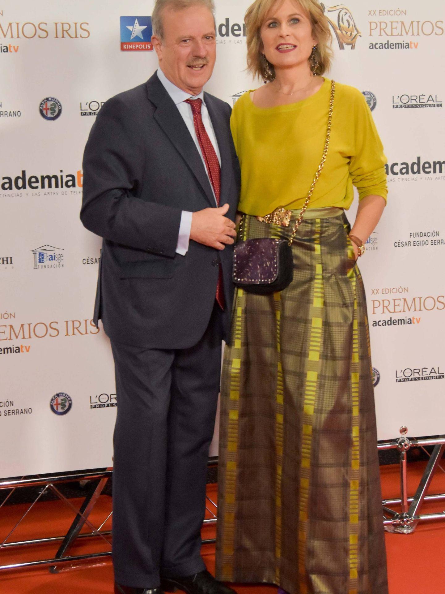 María Rey y Manuel Campo Vidal. (Cordon Press)