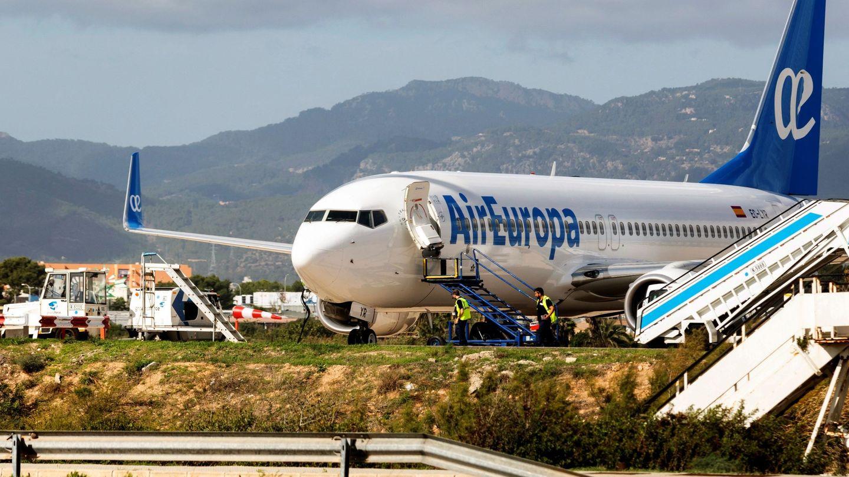 Avión de la compañía Air Europa. (EFE)