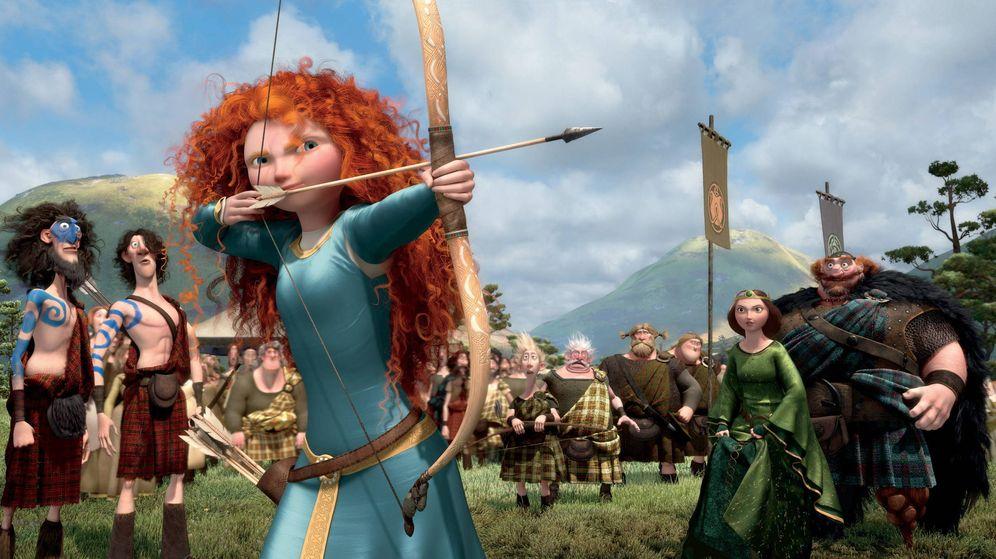 Foto: Mérida es una de las princesas Disney cuyos valores quieren transmitir los padres (Foto: Disney Pixar)