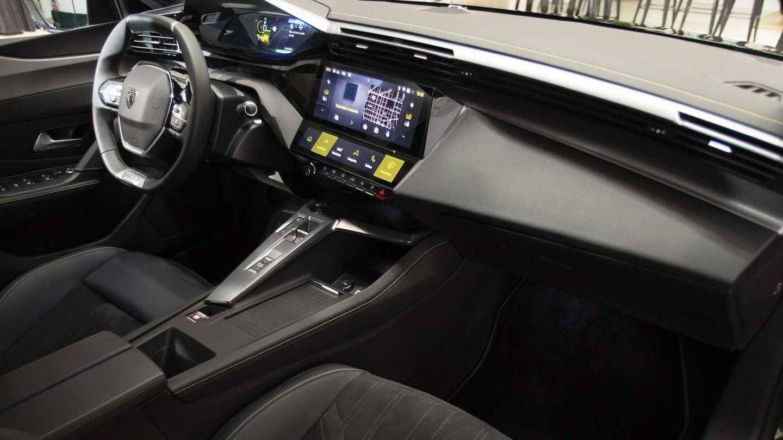 Interior del nuevo Peugeot 308, más tecnológico con su nuevo i-cockpit.