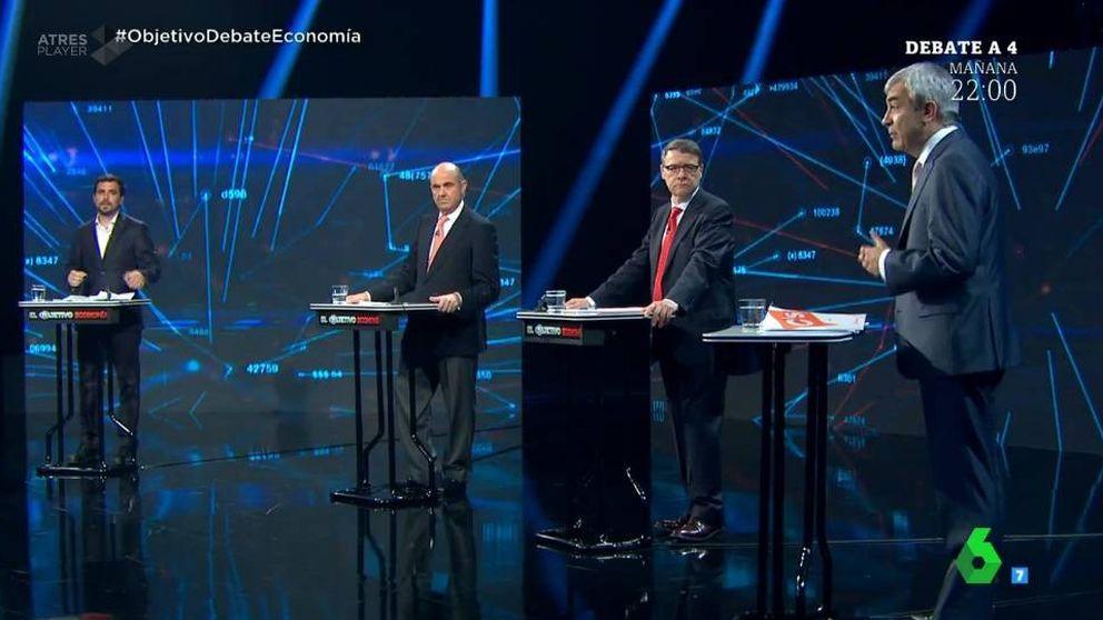 En directo: El debate económico de los cuatro grandes partidos