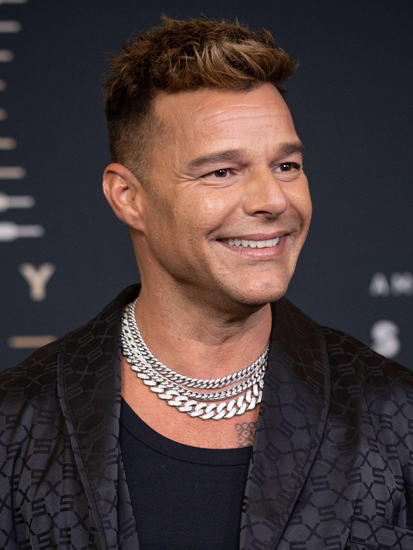 Ricky Martin, en el desfile de Savage X Fenty en 2019. (Getty)