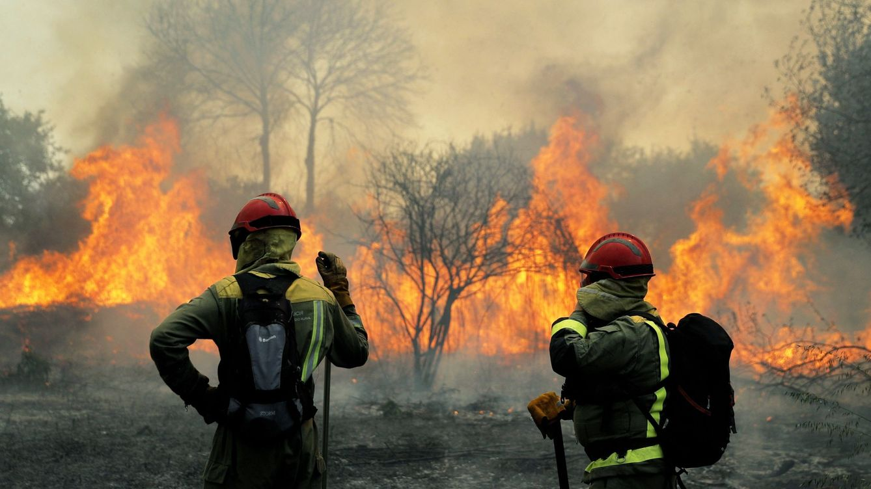El invierno más seco da paso en Galicia a una oleada de incendios en pleno marzo
