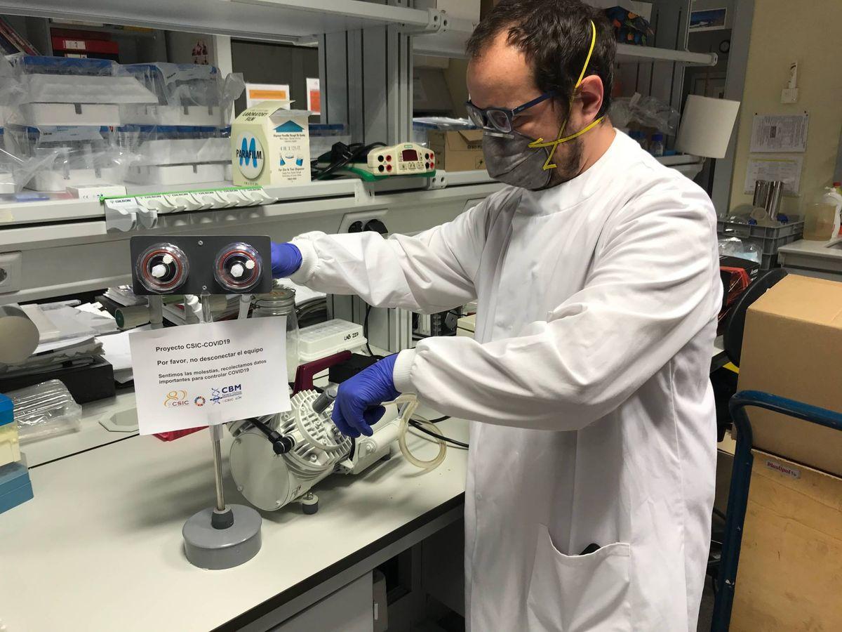 Foto: Uno de los investigadores del equipo. (Foto cedida)
