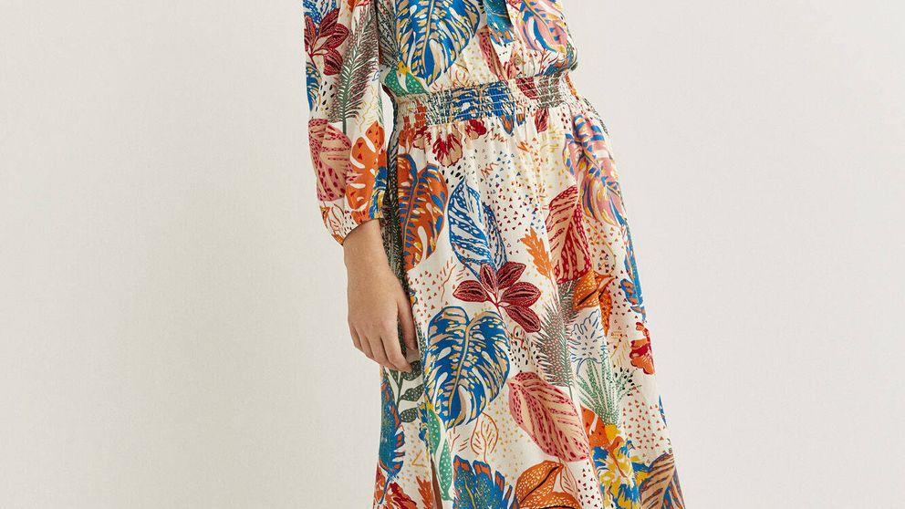 Este vestido de Springfield te transportará a un paraíso tropical y favorece a todas las tallas