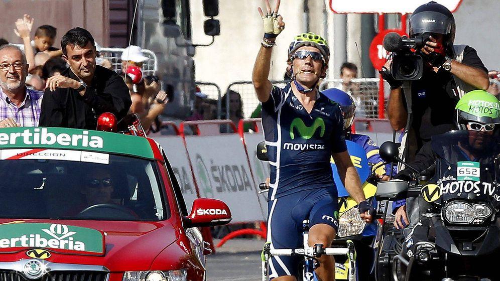 Foto: Pablo Lastras triunfó en la Vuelta a España en 2011 (EFE).