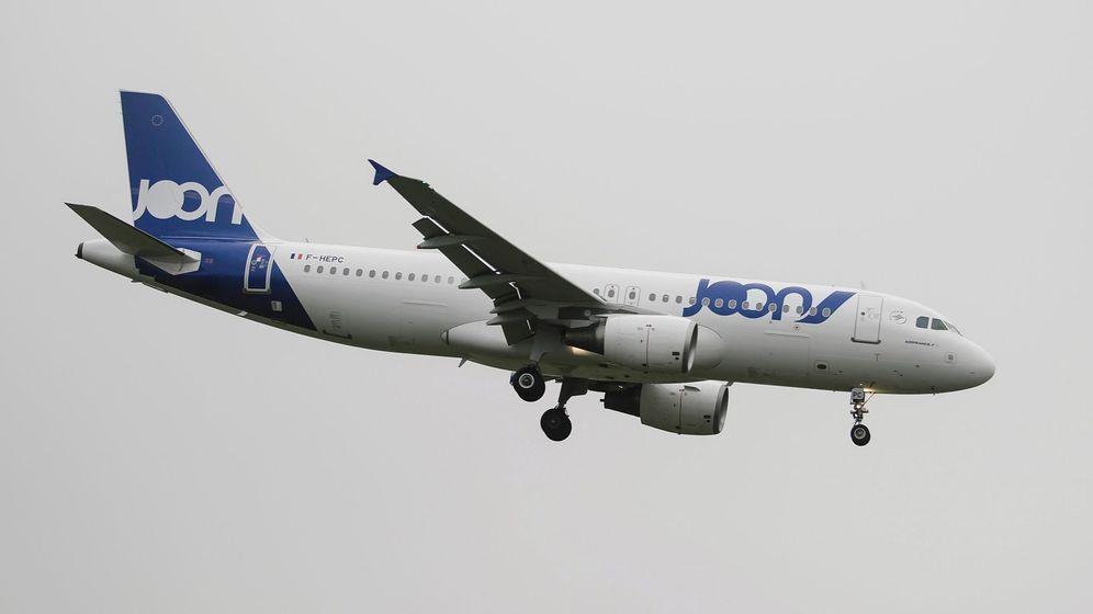 Foto: La compañía Joon pertenece al grupo formado por Air France y KLM (EFE/Clemens Bilan)