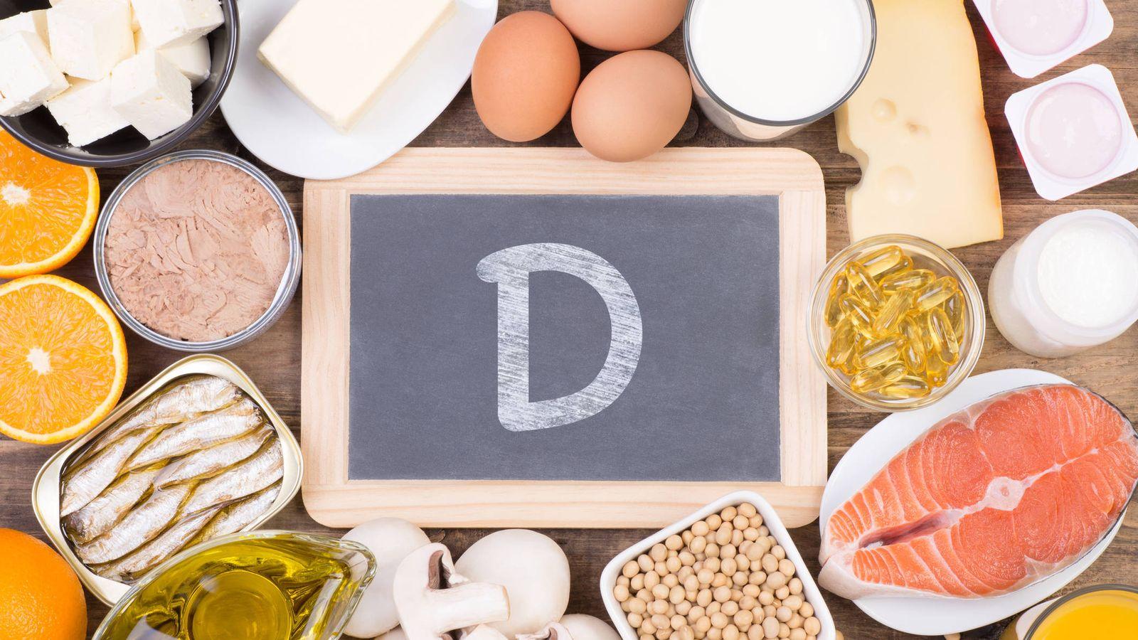 Foto: Food rich in vitamine D