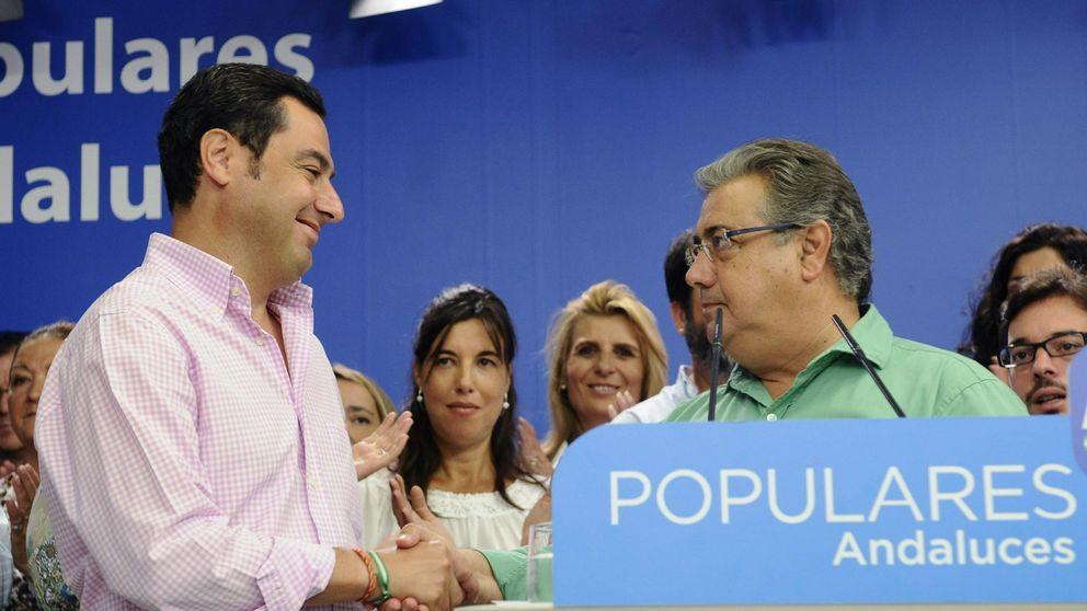 """El PP-A promete ser """"más humilde"""" para retener Sevilla y Málaga"""