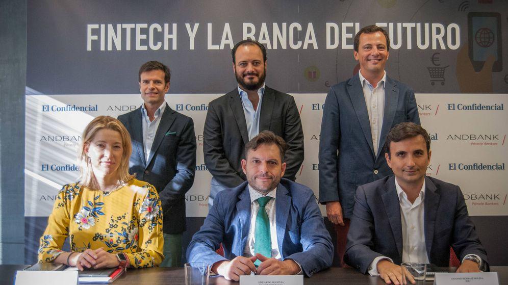 Foto: Mesa redonda organizada por El Confidencial y Andbank. (Foto: Carmen Castellón)