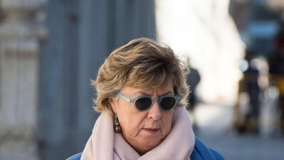Foto: La senadora declara en el Supremo. (EFE)