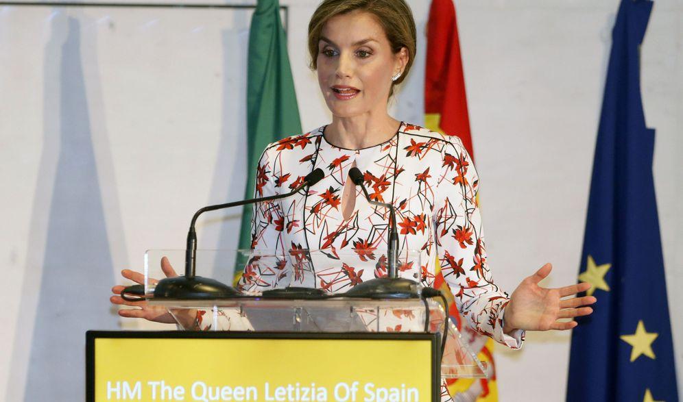 Foto: La Reina Letizia viaja a Portugal para luchar contra el tabaco