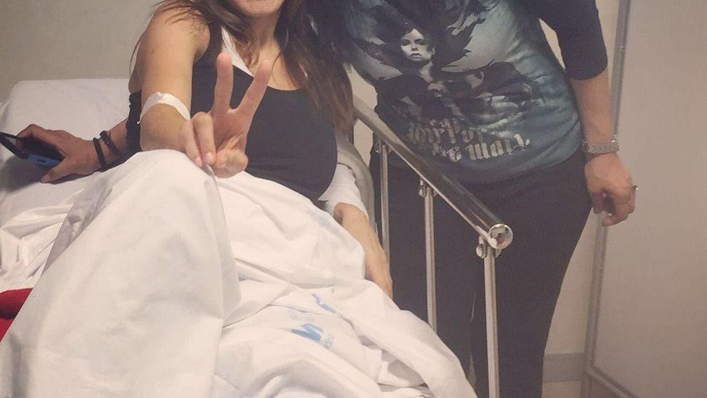 Ivonne Reyes, obligada a pasar por quirófano tras una aparatosa caída
