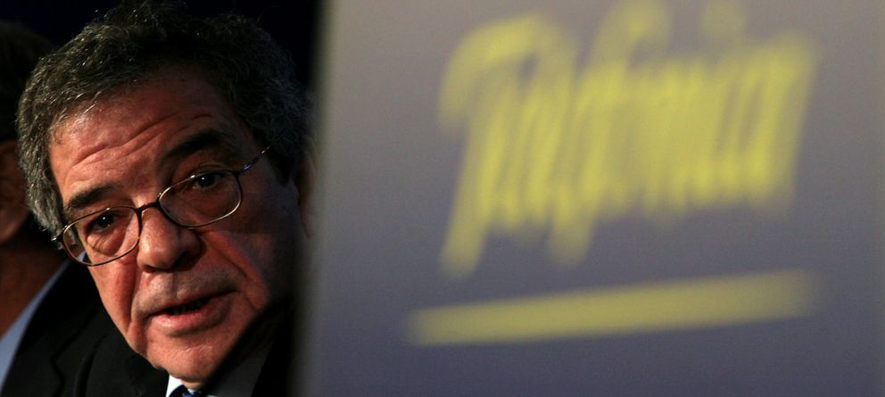 Foto: El presidente de Telefónica, César Alierta
