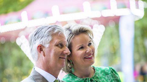 Felipe y Matilde de Bélgica, aclamados por salvar la monarquía de su país
