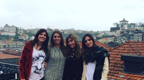 Sara Carbonero ejerce de anfitriona de sus amigas periodistas en Oporto