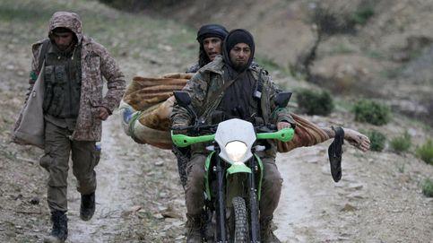 La ofensiva turca cerca la ciudad siria de Afrin