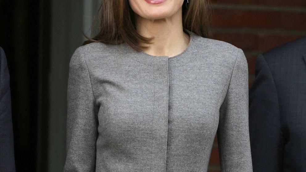 Letizia transforma su look 'condesa del terror' en un opción ganadora