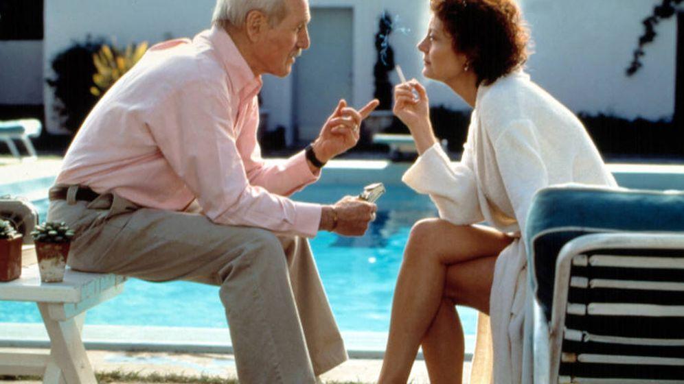 Foto: Paul Newman y Susan Sarandon en 'Al caer el sol'
