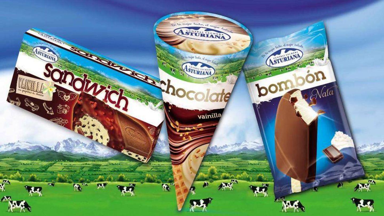 Ice Cream Factory Comaker se alió con Central Lechera Asturiana.