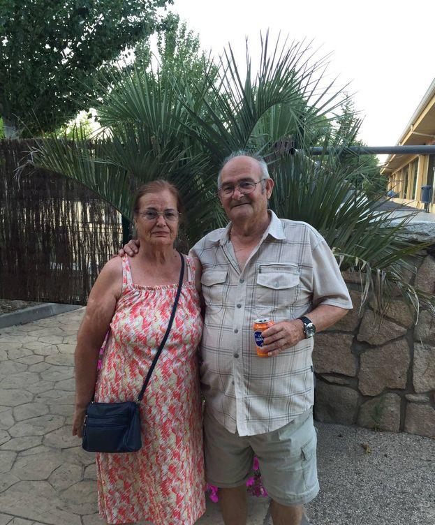 Foto: María del Carmen y Antonio, la pareja que será desahuciada en Pinto.