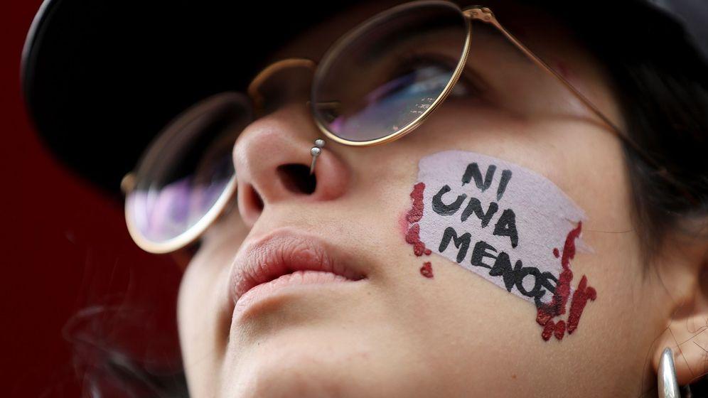 Foto: Movilización contra las muertes por violencia de género. (EFE)