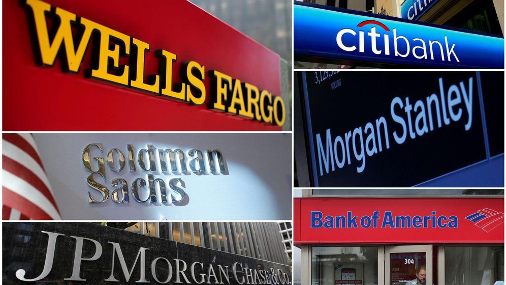 Foto: Grandes bancos estadounidenses (Reuters)