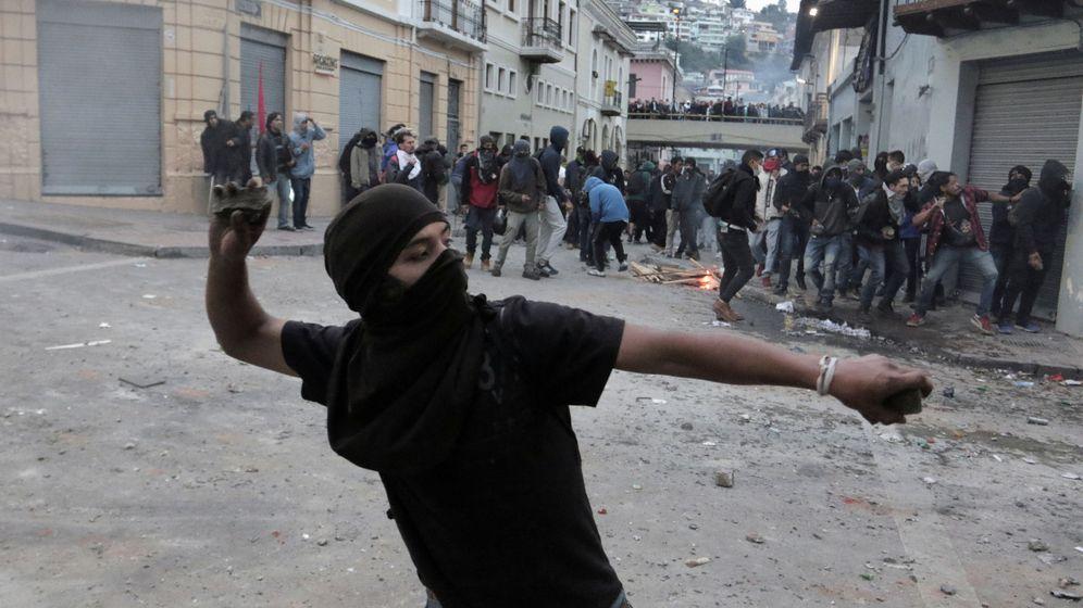 Foto: Protestas en Quito por las medidas económicas. (Reuters)