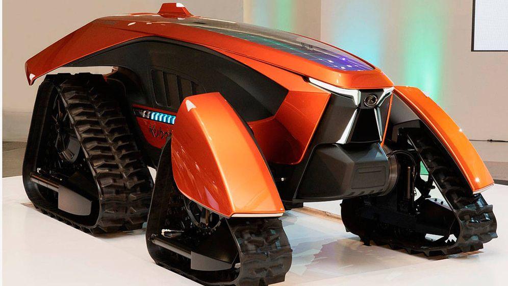 Foto: Kubota X-tractor, ¿el tractor del futuro? Foto: Kubota
