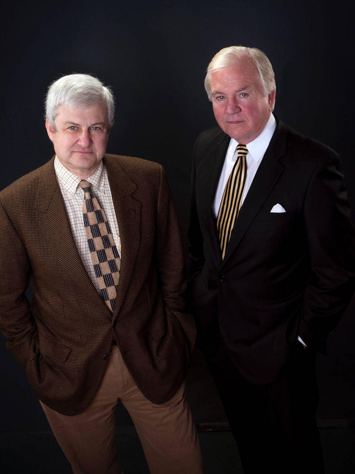 Mark Olshaker y John Douglas, autores de 'Mindhunter. Cazador de mentes'. (Crítica)